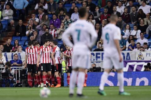 Con este golazo, el Real Madrid está cayendo en casa frente al Bilbao