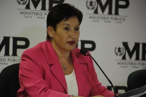 Esto dijo la Fiscal General sobre la presunta captura de su esposo