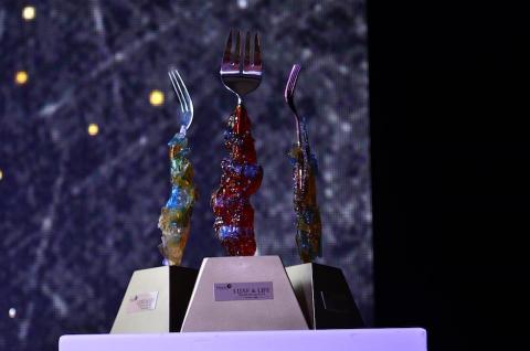 """Premian al mejor restaurante con el """"Tenedor de Lujo"""""""