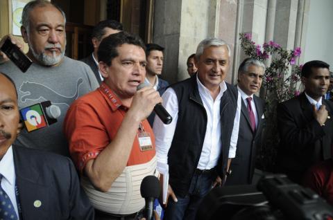 Monzón revela el pacto entre Otto Pérez, Baldetti y Joviel Acevedo