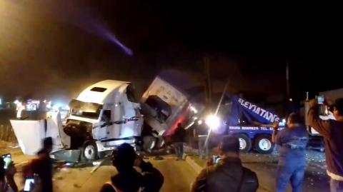 Más de 12 kilómetros de cola por accidente en ruta al Atlántico