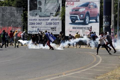 Así se viven las protestas en contra del gobierno de Nicaragua