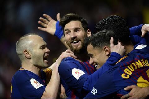 Así fueron los 3 goles con el que el Barça va ganando al medio tiempo