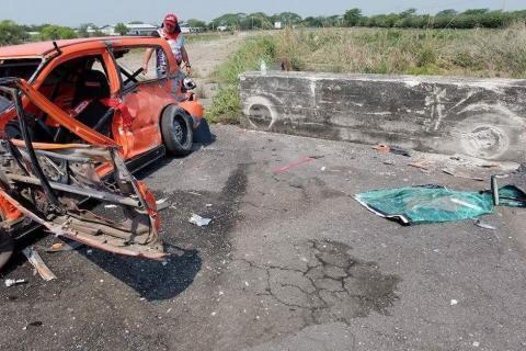Tragedia en la pista: piloto fallece en competencia guatemalteca