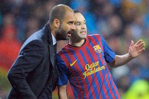 El plan de Guardiola para convencer a Iniesta de jugar con el City