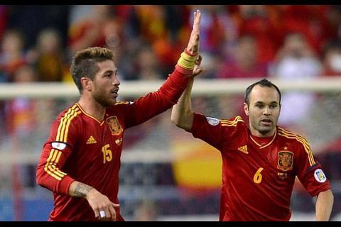 """Ramos: """"Si Iniesta se llamase Andrezinho tendría dos Balones de Oro"""""""