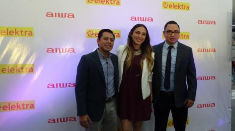 Aiwa, icónica marca japonesa, se une a tiendas Elektra
