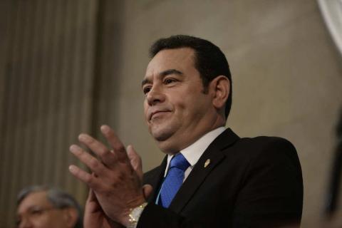 Presidente: Guatemala vale más que un pleito personal
