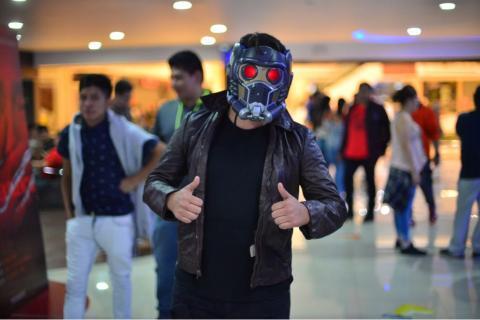 """Así vivieron los guatemaltecos el estreno de """"Avengers: Infinity War"""""""