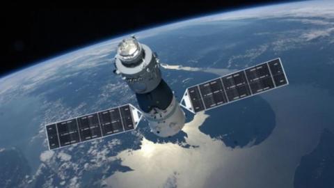 Preocupación por la pronta caída a la Tierra de una estación espacial