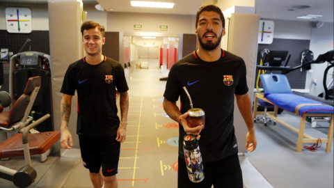 """""""Hola Coutinho"""", así recibe el Barcelona a su nuevo jugador"""