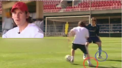 ¿Messi fue youtuber? Así daba tutoriales para burlar a los defensas