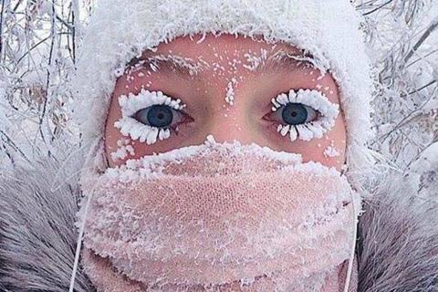 La ciudad más fría del mundo reporta temperaturas históricas