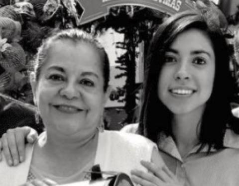 Ana Lucía Martínez agradece el apoyo recibido por la muerte de su mamá