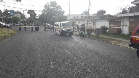 Asesinan a mujer que se ejercitaba en un sector de la zona 11