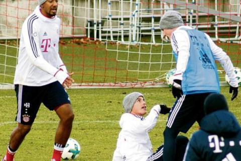 James Rodríguez protagoniza pelea en el entreno del Bayern Múnich