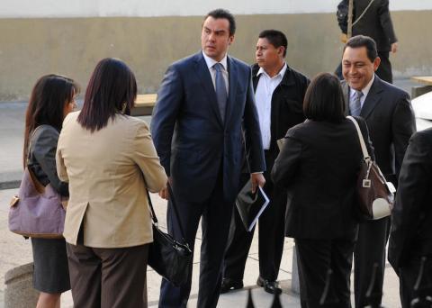 """Alejandro Sinibaldi fingía animadversión con Manuel Baldizón, pero en realidad eran """"socios"""". (Foto: Archivo Nuestro Diario)"""