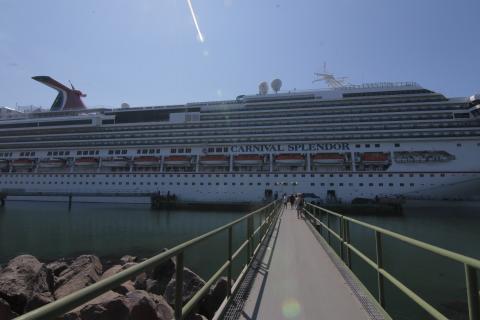Así se ve Guatemala desde un crucero