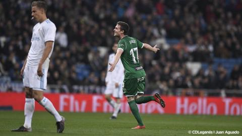 Con este golazo, el Leganés enmudece al Santiago Bernabéu