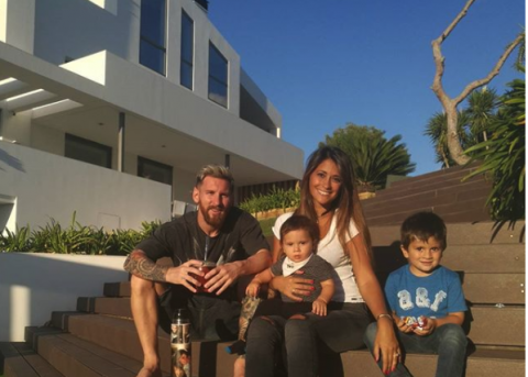 Así es la espectacular casa de Lionel Messi en Barcelona