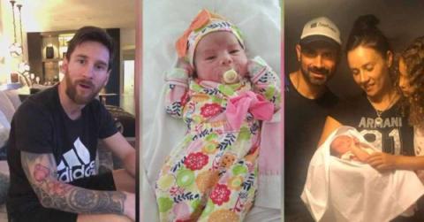 """Nombra Lionela a su hija en honor a Messi y el """"10"""" responde así"""