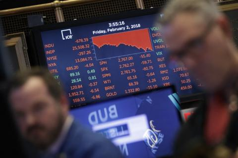 """""""Lunes negro"""" en Wall Street, la peor caída en la bolsa de valores"""