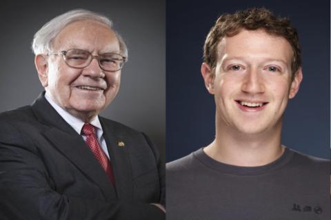 """Buffett y Zuckerberg, entre afectados por el """"Lunes negro"""" de la bolsa"""