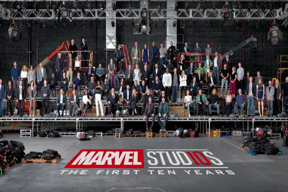 En un video, Marvel resume 10 años de su universo de superhéroes