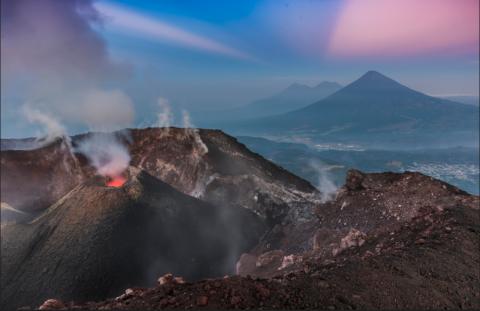 El espectáculo del volcán de Pacaya que debes admirar