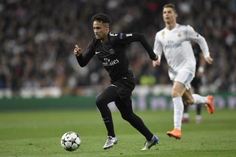 El abrazo entre Neymar y Cristiano Ronaldo que ilusiona al madridismo