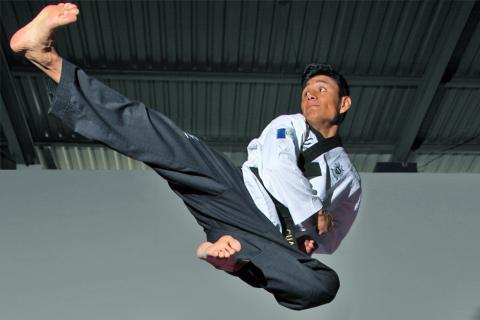 José Albino Ixtacuy: el príncipe del taekwondo guatemalteco