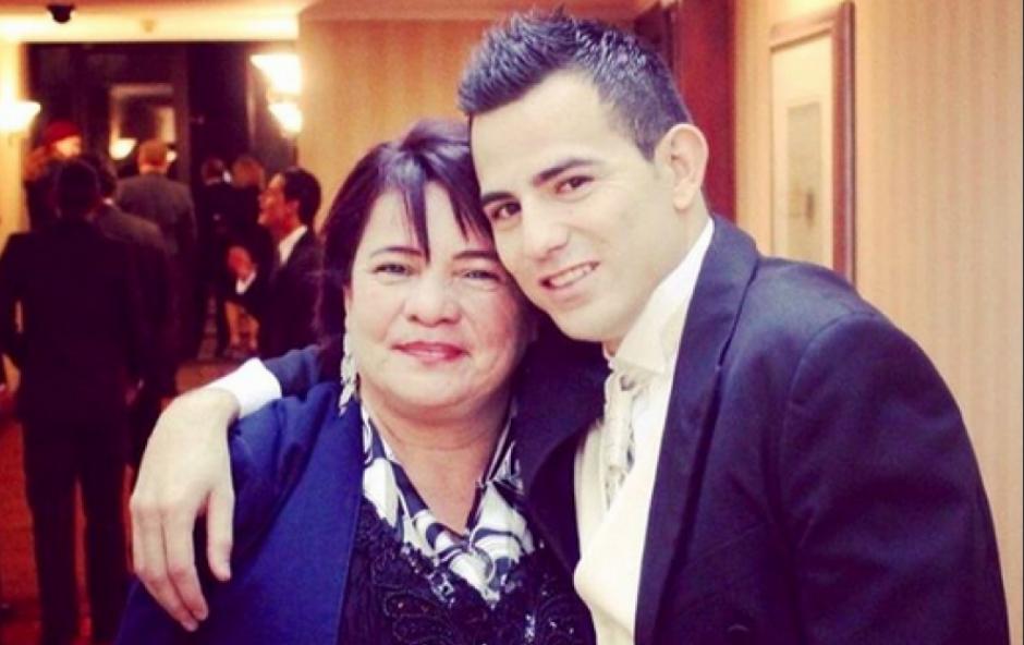 Marco Pappa recordó así a su madre fallecida hace un año