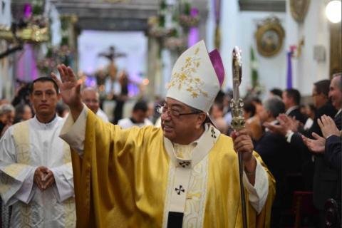 Diagnostican cáncer al Arzobispo de Guatemala, Óscar Vian Morales