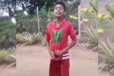 La impresionante voz de un niño venezolano cautivó a Nicky Jam