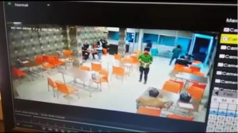 #VIDEO Pelea en un restaurante termina en tragedia