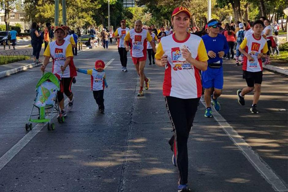 Guatemaltecos disfrutaron de la V Carrera Familiar de McDonald