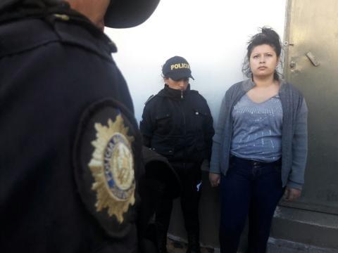 Detienen a salvadoreña por asesinar a una guatemalteca embarazada