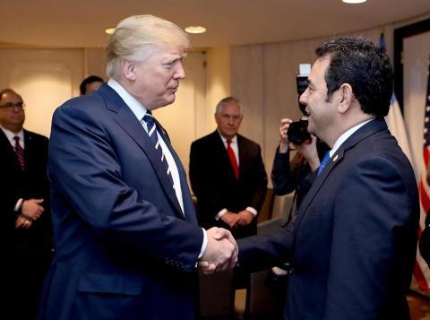 Los regalos que Jimmy Morales le llevó a Donald Trump