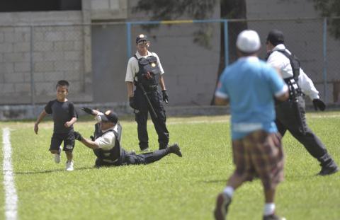 El niño que burló a la seguridad en el estadio de Sanarate