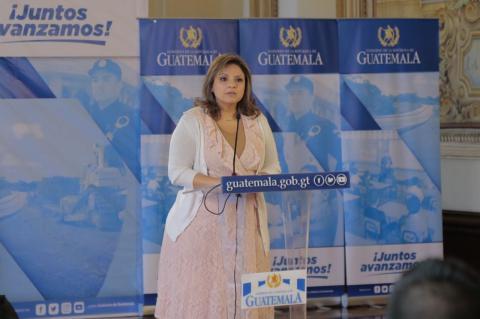 Congreso planifica juicio político contra Sandra Jovel