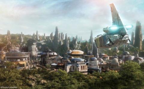 """""""Star Wars"""" será el tema del nuevo reino de Walt Disney World"""