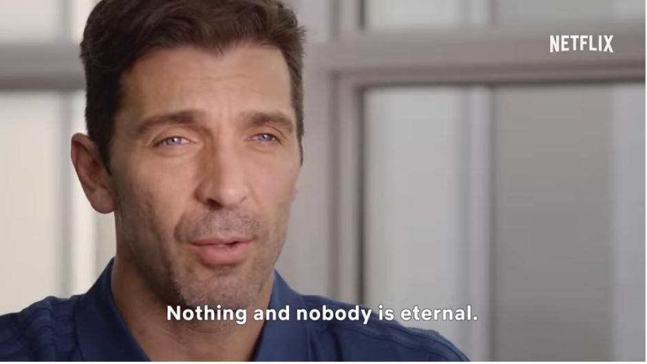 """Las confesiones de Gianluigi Buffon en el documental """"First Team"""""""