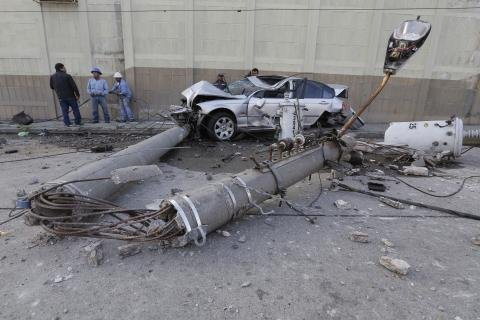 ¿Cuánto cuesta chocar contra la infraestructura pública?
