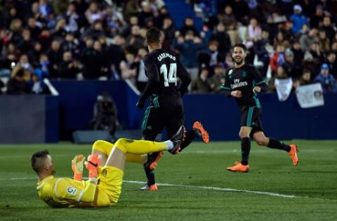 El Real Madrid salva el honor y vence al Leganés