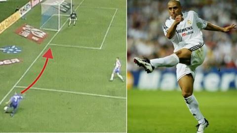 """Recuerdan el gol """"imposible"""" de Roberto Carlos, 20 años después"""