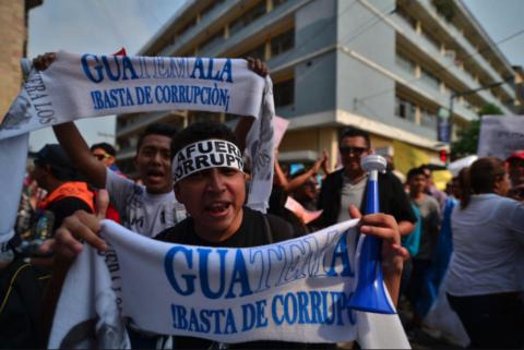 Así perciben la corrupción los guatemaltecos, según informe