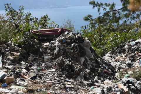 El Lago de Atitlán, en peligro de extinción