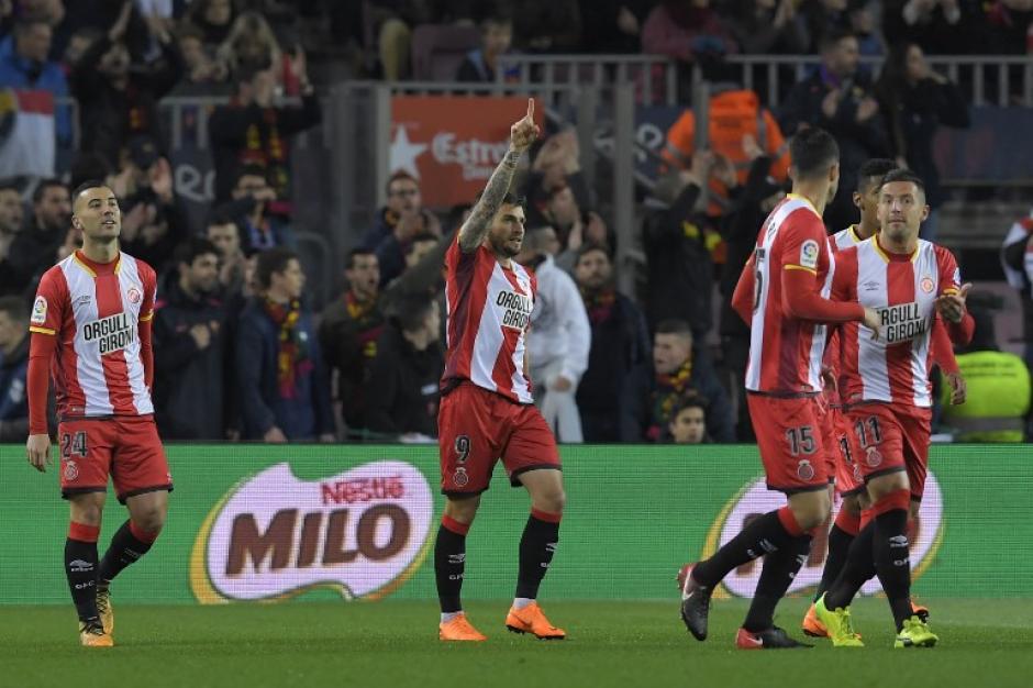El Girona FC sorprende al Barça con un gol en el minuto 2