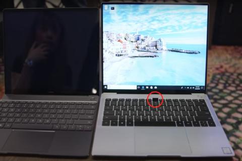 """Presentan computadora portátil con la webcam """"escondida"""" en el teclado"""