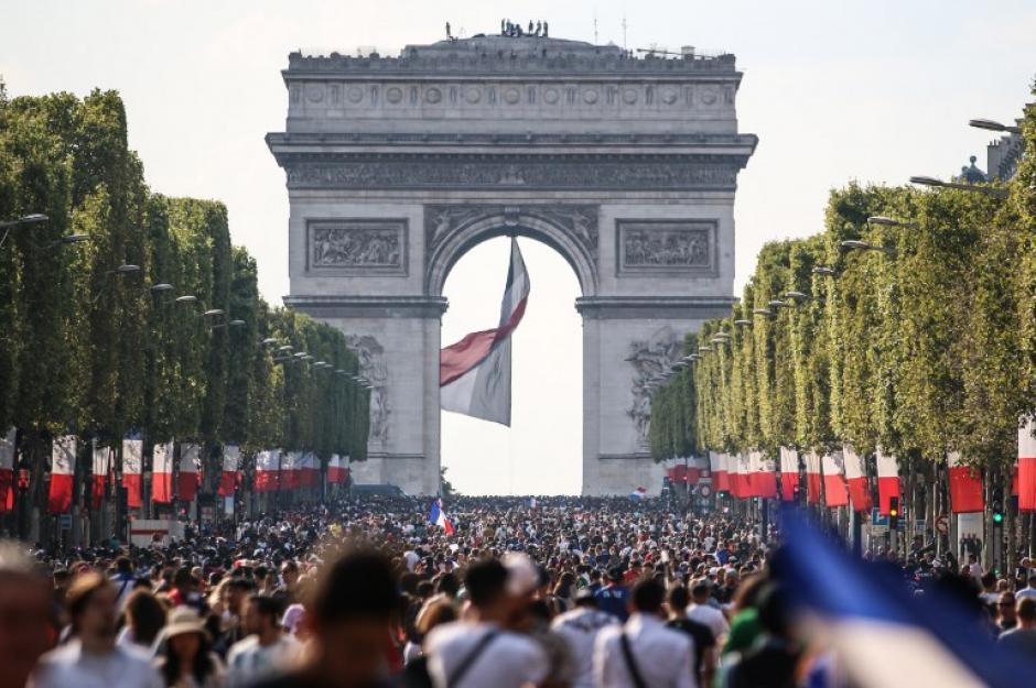 La celebración de Francia que sorprendió al mundo, mira el video